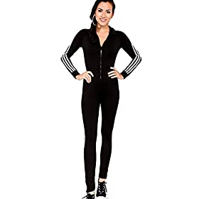 - 41Ulx2SrUTL - Bodycon4U Women's Sport Lycra Spandex Long Sleeve Zentai Unitard Bodysuit Jumpsuit Romper