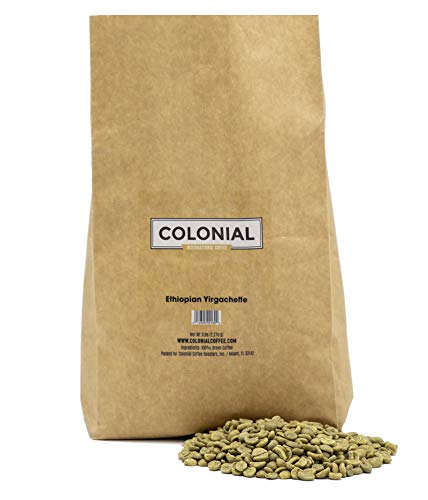 Green Raw Unroasted Coffee Beans