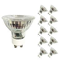 Ampoules halogènes–40W GU10–Lot de 10