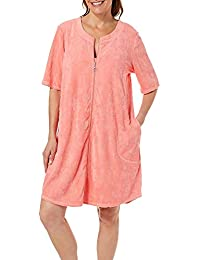 99b9c46420 Womens Pineapple French Terry Zip Cover-Up · Paradise Bay
