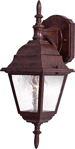 Minka Lavery Outdoor Wall Light 9067-91 Bay Hill Exterior Wall Lantern, 75 Watts, Bronze