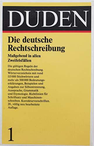 Duden: Rechtschreibung der Deutschen Sprache (German Edition)
