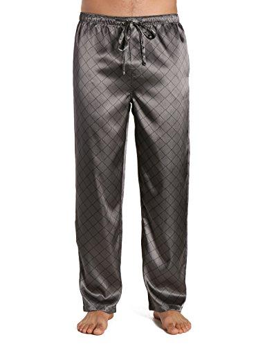 mens silk pajama pants - 6