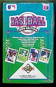 1990 Upper Deck Baseball Cards Unopened Box 36 Packs Per Box