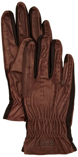 Brown Riding Gloves - 3
