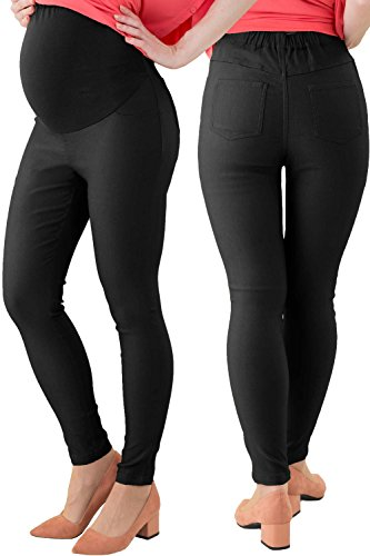 Sweet Mommy Maternity and Post-Partum Stretchy Skinny Colored Pants
