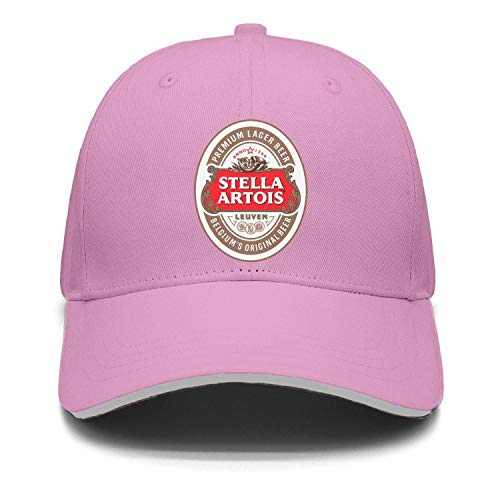 uter ewjrt Adjustable Stella-Artois-Beer-Logo- Sun Hats Summer Sports Cap ()