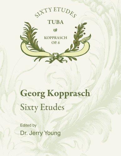 60 Etudes for Tuba Op. 6 pdf