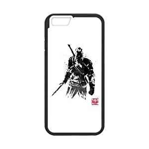 iPhone 6 Plus 5.5 Inch Phone Case Covers Black The Witcher Sumi e v.2 VMZ Phone Case Custom Customized