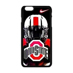 DIY Case 10 Sports NCAA Ohio State Buckeyes Footballl iPhone 6 Plus 5.5 by icecream design