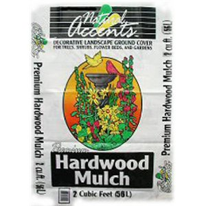 - US MULCH LTD 2 CUFT Natural Accents Hardwood UPC Bag