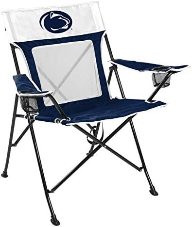 Rawlings NCAA Game Changer Large Folding Tailgating and Camping Chair, with Carrying Case All Team Options