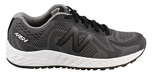 New Balance Boys' Arishi Road Running Shoe, Grey/Black, 3 Wide US Little Kid (New Shoes For Boys)