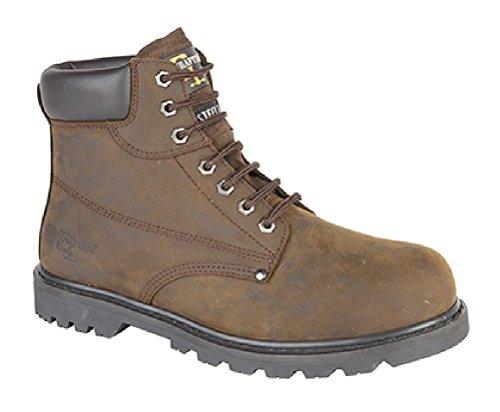 Grafters - Calzado de protección para hombre marrón - marrón