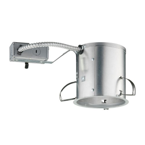 Universal Remodel Housing Recessed Lighting - Juno Lighting IC25R 5-Inch IC Rated Shallow Incandescent Universal Remodel Housing