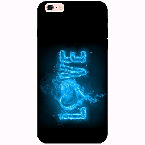 Coque Apple Iphone 6 Plus-6s Plus - Love feu bleu ciel