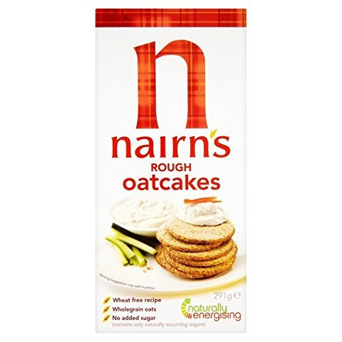 Nairns Rough oatcake 291g ( 3 Pack) by Nairn's NAIRN' S OATCAKES
