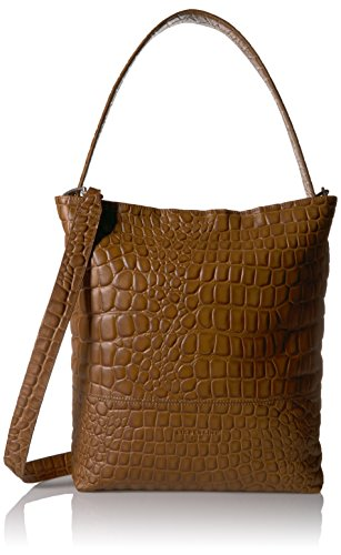 Liebeskind Berlin Women's Tribeca Croco Embossed Leather Hobo by Liebeskind Berlin