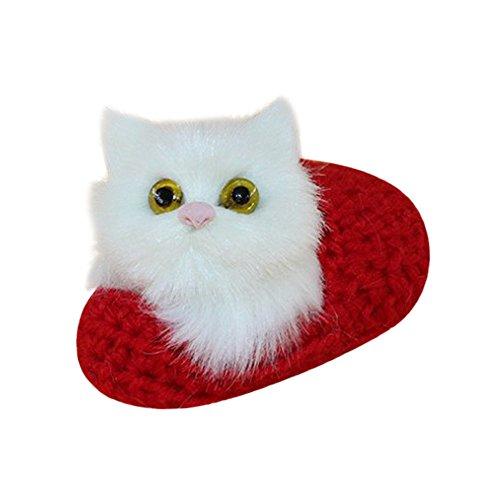 (Aribelly Cat in Slippers, Cat Soft Cartoon Animal Toys)