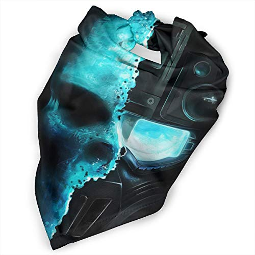 Pet Scarf Dog Bandana Bibs Triangle Head Scarfs Artwork Skull Ghost Accessories for Cats Baby -