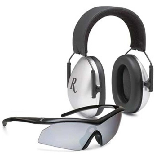 Remington Combo Earmuffs Safety Glasses