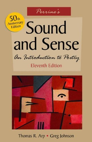 Perrine's Sound and Sense: An Introduction to Poetry by Thomas R. Arp (2004-05-14)