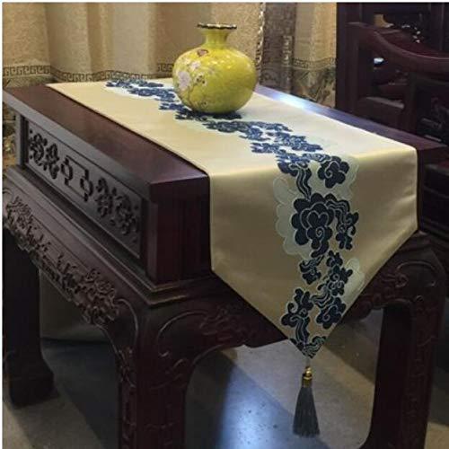 JJSP Tischfahne klassischen Retro Couchtisch Tischdecke Stickerei Tischfahne 32  160cm32  250cm (größe   32  160cm (110 Tables)) B07K7KD3HC Tischdecken Hochwertig       Wir haben von unseren Kunden Lob erhalten.