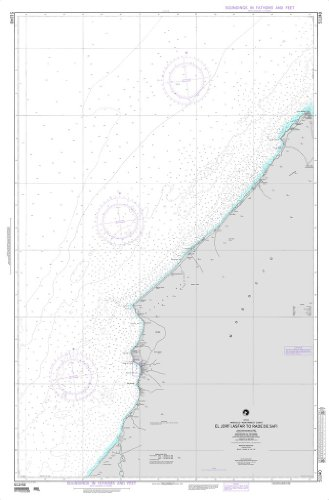 NGA Chart 51240: El Jorf Lesfar to Rade de Safi (Morocco)