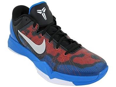 quality design 09633 173a9 Nike Zoom Kobe 7, Photo Blue White-Tm Orange-Blk UK Size