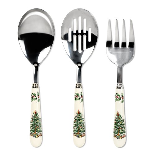 Spode Christmas Tree 3-Piece Flatware