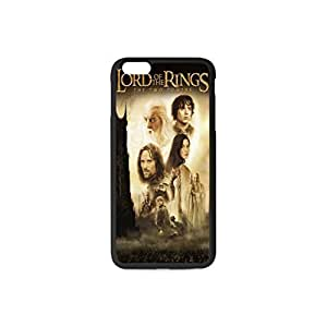 Hard Case Cover Back Skin Protector Style Plastic and TPU Case For Apple iPhone 6 plus 5.5 Inch C Black&White The Lord of The Rings Pattern