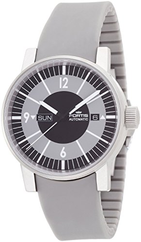 Fortis 623.10.38 SI.10 Spacematic Classic Black Mens Automatic Watch