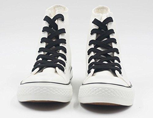 Serafijn Van Het Einde Anime Canvas Schoenen Cosplay Schoenen Sneakers Zwart / Wit Wit 3
