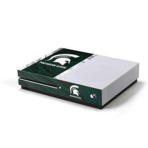 Michigan State University Xbox One S Console Skin - Michigan State University Away Grey Jersey | Schools & Skinit Skin -