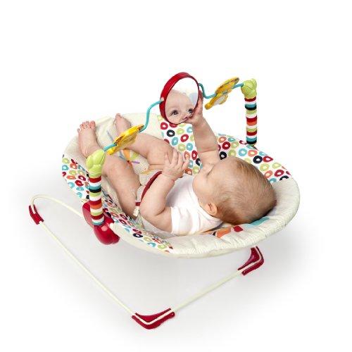 Large Product Image of Bright Starts Playful Pinwheels Bouncer
