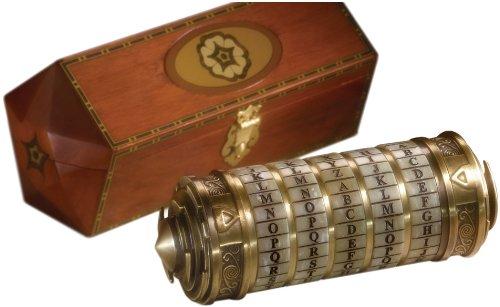 Da Vinci Code - dispositivo Cryptex, scala 1 1, replica (accessori per costume)