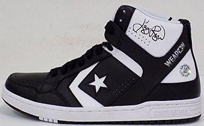 5c5347be6bb6 Larry Bird Celtics Signed Converse Weapon Basketball Shoe (Left) JSA + Bird  Holo -