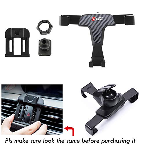 R RUIYA 2017 2018 Mazda 3 Smartphone Cell Phone Mount Holder with Adjustable Air Vent Clip Cover Fit for 3.5-6.0 Inches Phone