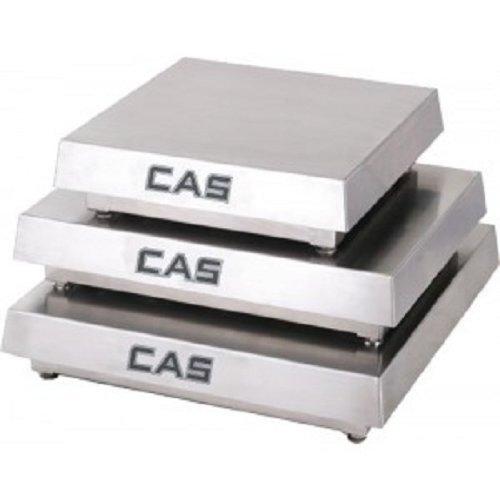 (CAS HCMS-S250 Mild Steel Enduro HC Series Scale Platforms, 250lb Capacity, 18