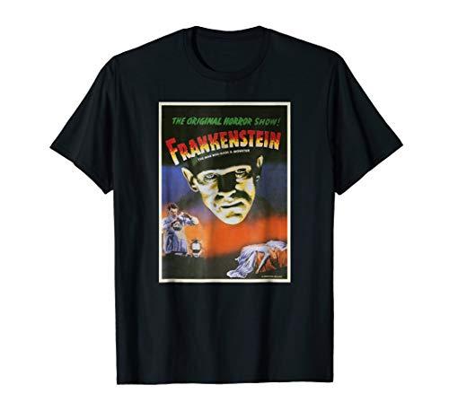 (Universal Studios Frankenstein Original Poster T-Shirt)