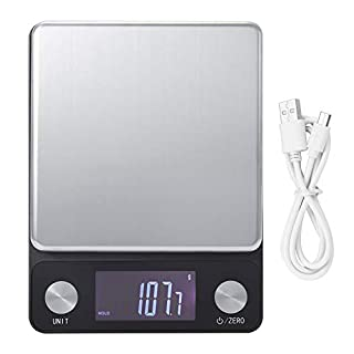 Food Scale,Electronic Kitchen Scale LED Digital Food Scale Weighing Scale High Precision Measuring Tools