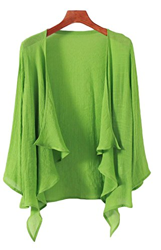 Alppv レディース コート 韓国風 ファッション おしゃれ 可愛い アウター 日焼け止め服 夏 秋 軽量 薄手 コート 紫外線を防ぐ コート 冷房対策 カーディガン