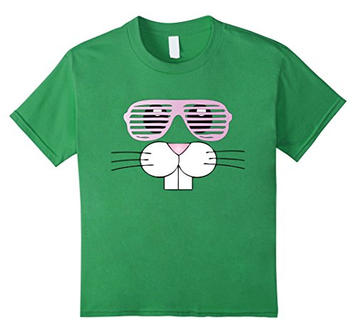 [Kids Easter Shirt For Toddlers Bunny Costume 80s Shades Cute Kids 6 Grass] (Toddler 80s Costumes)