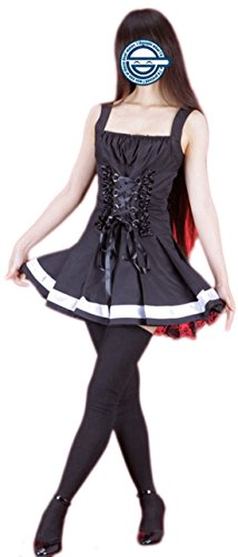 Going Coser Death Note Amane Misa Second Cosplay Costume (X-Small, Multi)