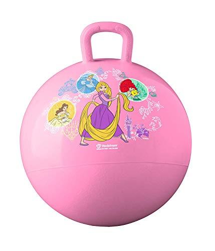Game / Play Ball, Bounce and Sport, Tough Gauge Vinyl, Grab n' Grip handle, Disney Princess Hopper Toy / Child / Kid Disney Princess Hop Ball