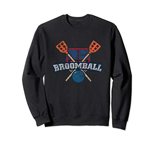 Vintage Broomball Sports Sweatshirt