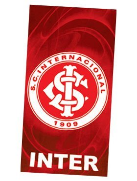 - Sport Club Internacional, Brazilian Soccer Team, Velour Beach Towel, 30\