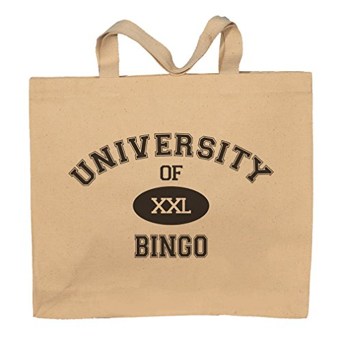 University Of XXL Bingo Totebag Bag by T-ShirtFrenzy