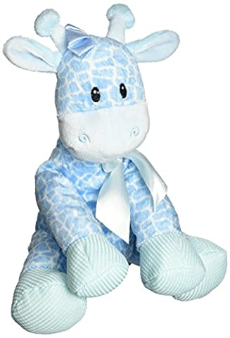 First & Main Plush Stuffed Giraffe, Blue, 8.5