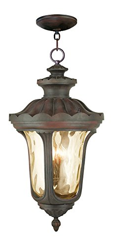 Imperial Bronze Oxford 4 Light Outdoor Lantern Pendant
